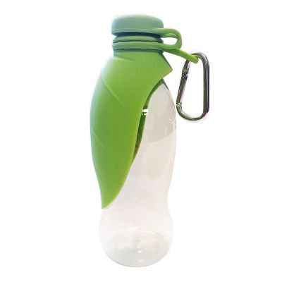 Olly & Max Leaf Folding Travel Water Bottle- Mint Green